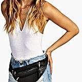 Boohoo Amy Basic Zip Detail Bum Bag