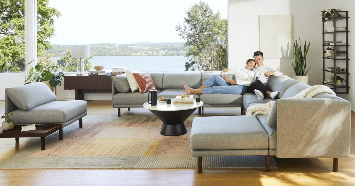 Burrow's New Sofas Are Modern, Comfortable, and Delivered to You in a Box