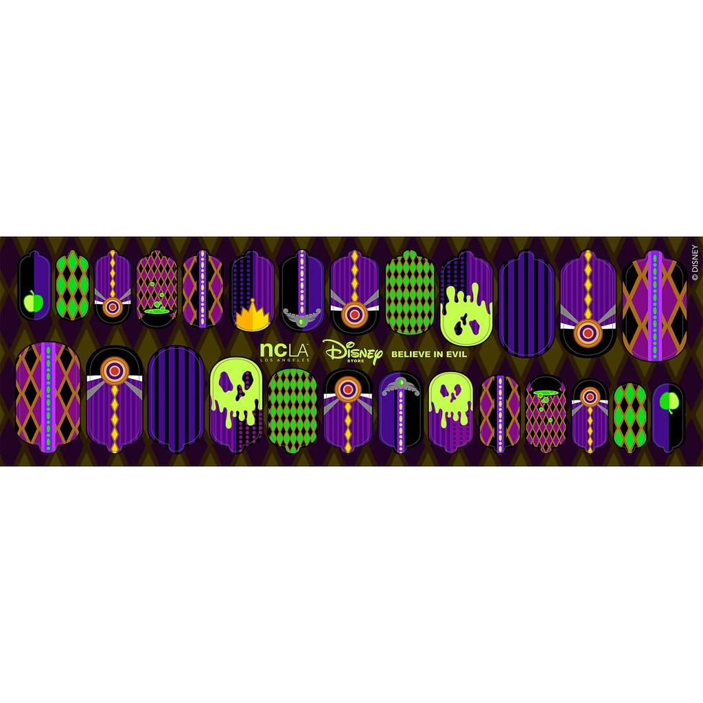 Believe in Evil Evil Queen Nail Wraps | Disney NCLA Nail Art Wraps ...