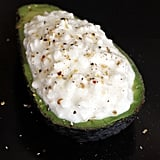 Avocado With Cottage Cheese