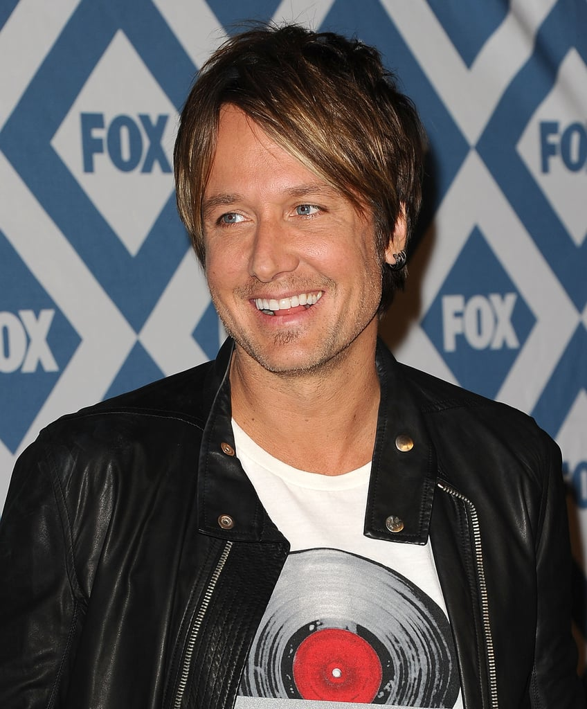 Keith Urban flashed a smile.