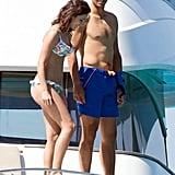 Rafael Nadal and His Girlfriend in Ibiza, Spain, June 2016