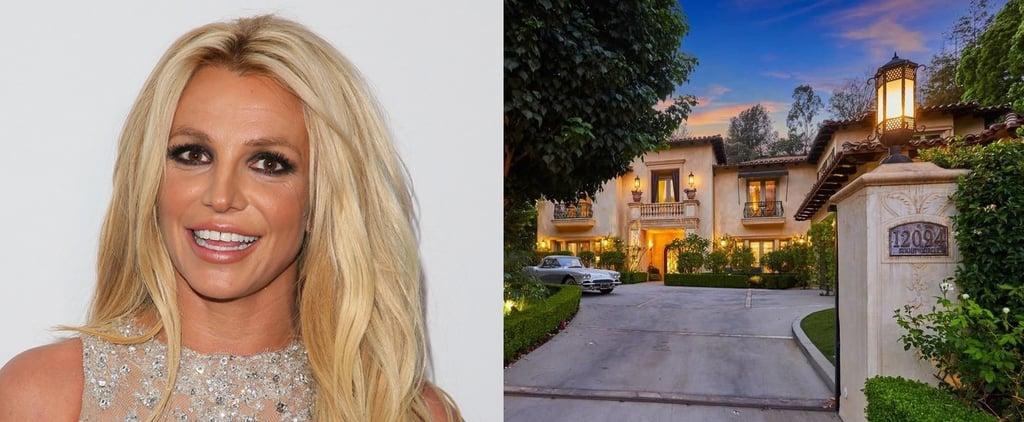 Britney Spears Beverly Hills Mansion Photos