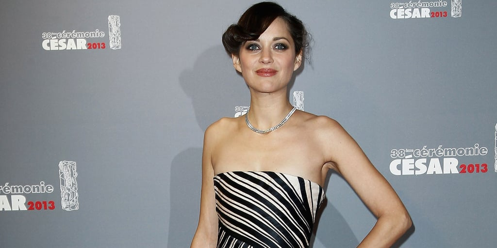 Marion Cotillard Goes Black and White For a Big Night in Paris