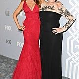 Sofia Vergara brought her aunt along for the Fox and FX afterparty.