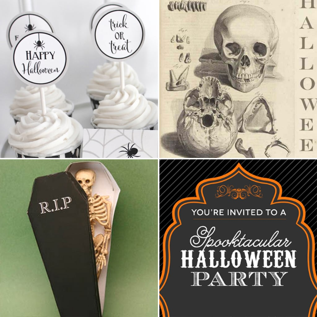 20 Free Halloween Printables to Get You in the Spooky Spirit