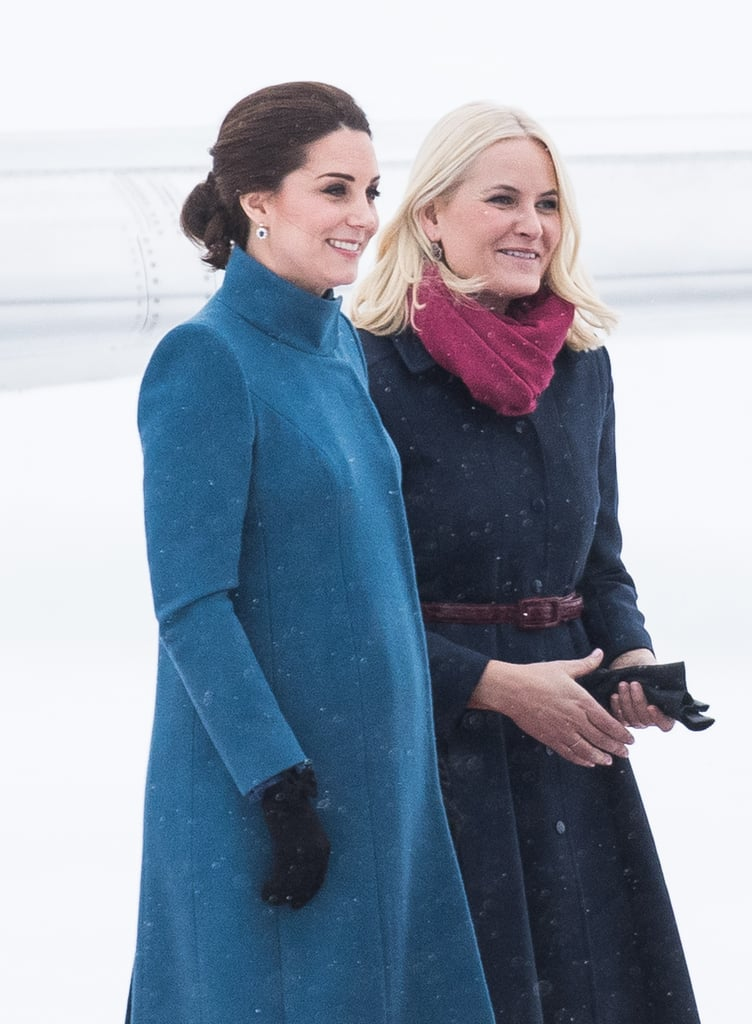 Kate Middleton's Sweden and Norway Style 2018