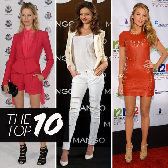 Top Ten Best Dressed of the Week: Karolina, Miranda, Blake & More