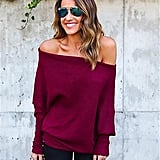 ABD Off-the-Shoulder Sweater