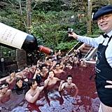 Des Bains Dans du Vin