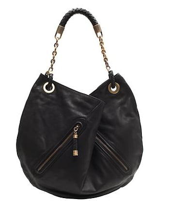 The Bag to Have: Bally Leather Zip Pocket Slouch Bag
