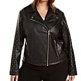 Calvin Klein Studded Moto Jacket