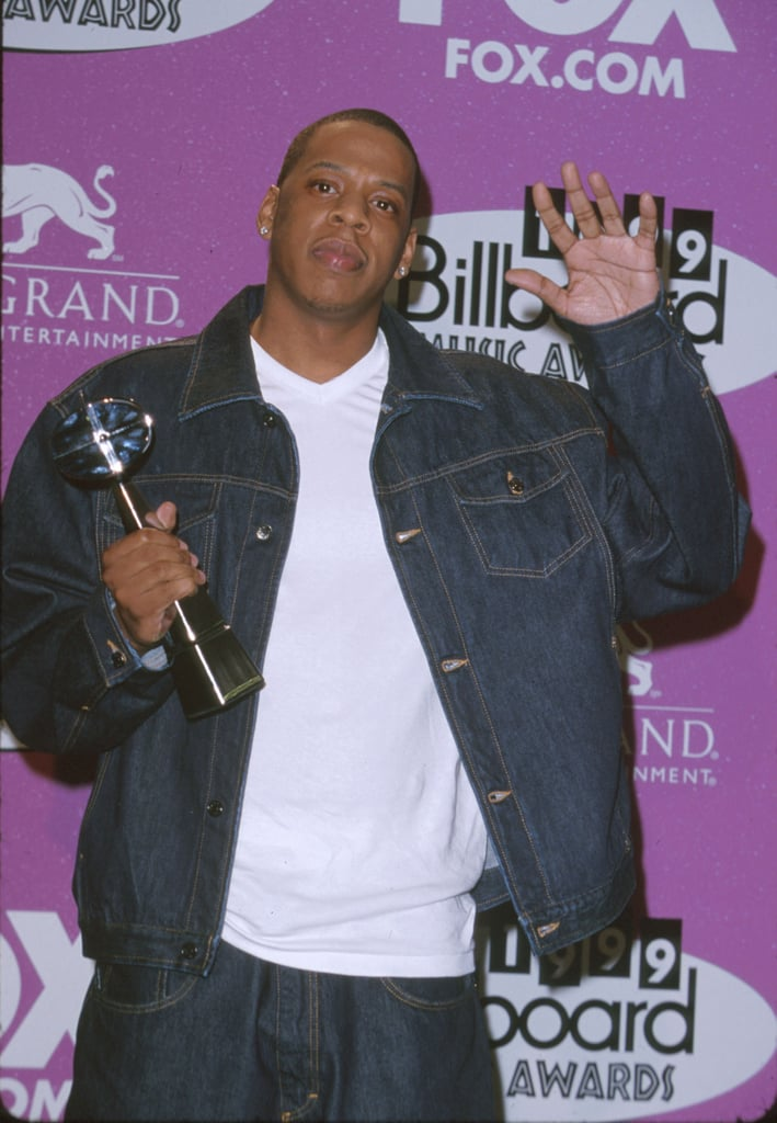 In 1999, Jay-Z picked up an award.