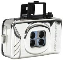 LOMO silver action sampler camera ($35)
