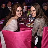 Pictured: Hilary Swank and Lana Del Rey
