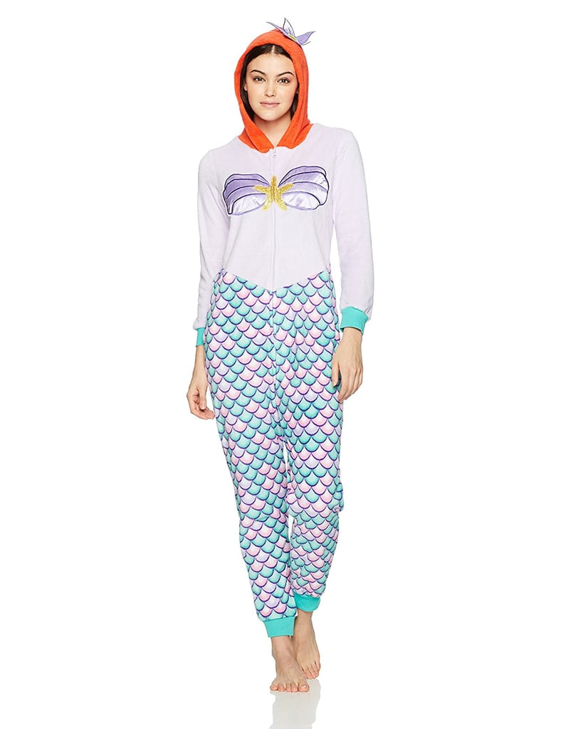 Disney Ariel Angel Fleece Onesie
