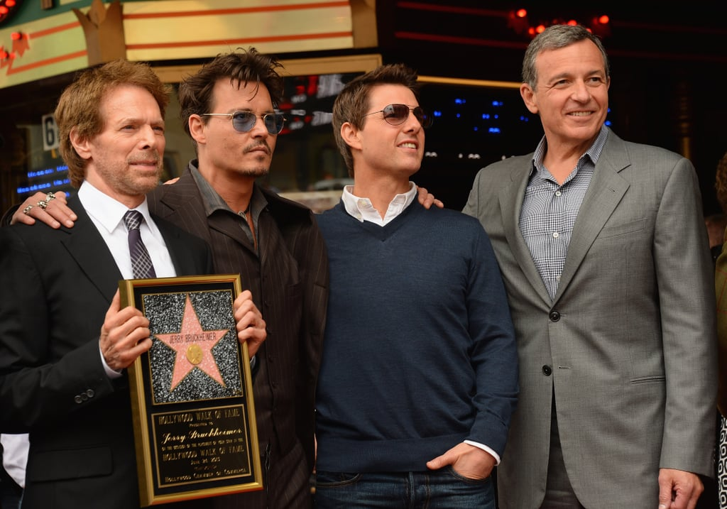 Stars Team Up to Honor Producer Pal Jerry Bruckheimer