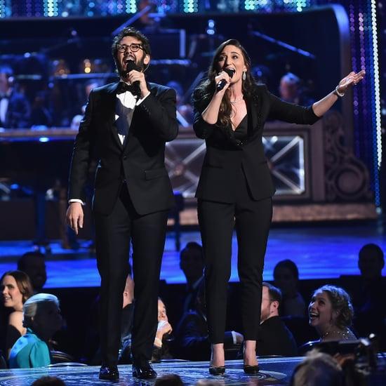 Josh Groban and Sara Bareilles 2018 Tony Awards Performance