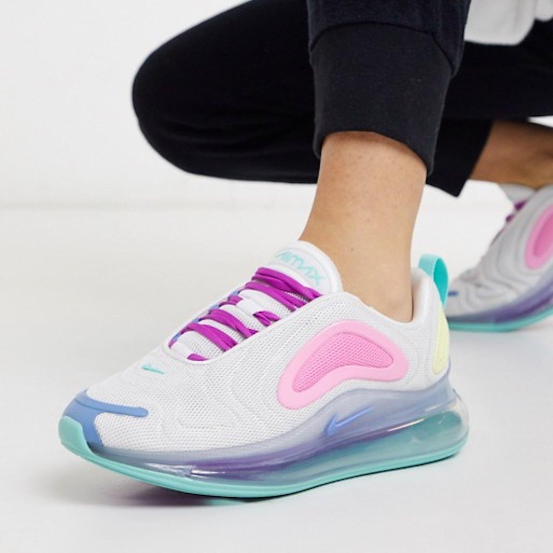 Nike Colorful Pastel Air Max Sneakers