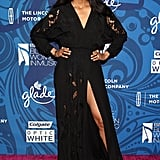 Ciara showed some leg at the Essence Black Women in Music party.