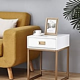 Modern Nightstand Side End Table
