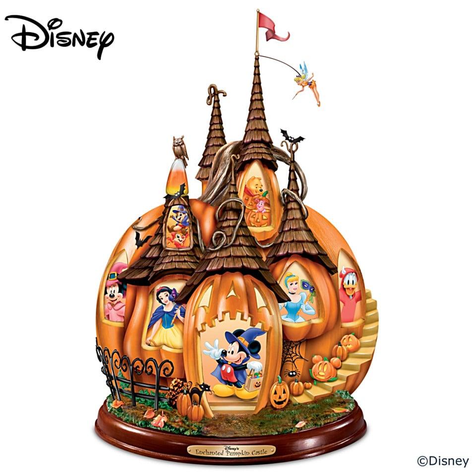 Disney's Enchanted Pumpkin Castle Illuminated Sculpture