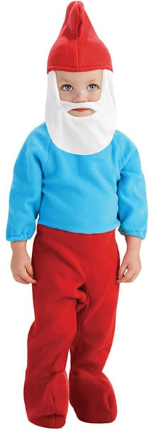 Blue and Red Papa Smurf Costume