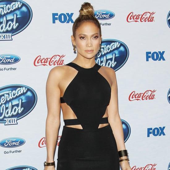 Jennifer Lopez American Idol Finalists Party 2014 | Video
