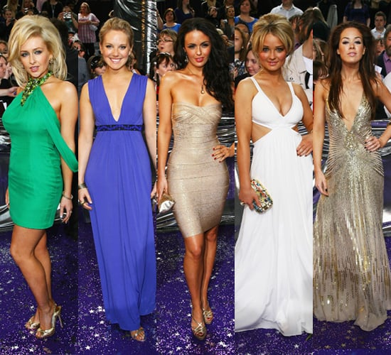 2008 Soap Awards: High Glamour for Hollyoaks Girls