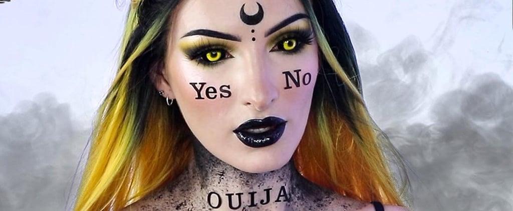 Ouija Board Halloween Makeup Tutorial