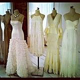 We spied some gorgeous bridalwear at BHLDN's preview.