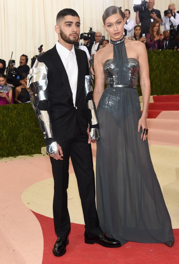a32f093a0 Gigi Hadid's Tommy Hilfiger Dress at Met Gala 2016 | POPSUGAR Fashion