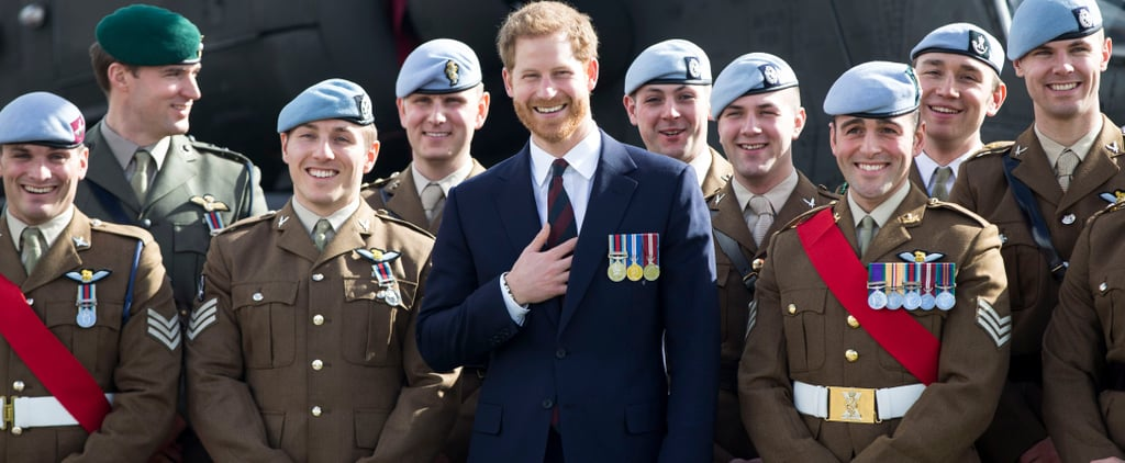 Prince Harry's Spirits Are High as He Presents Pilots With Their Wings at Army Aviation Centre