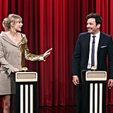 "Taylor Swift Playing the ""Name That Song Challenge"" With Jimmy Fallon"