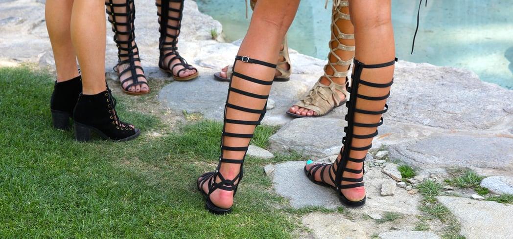Types Of Lace Up Sandals Popsugar Fashion