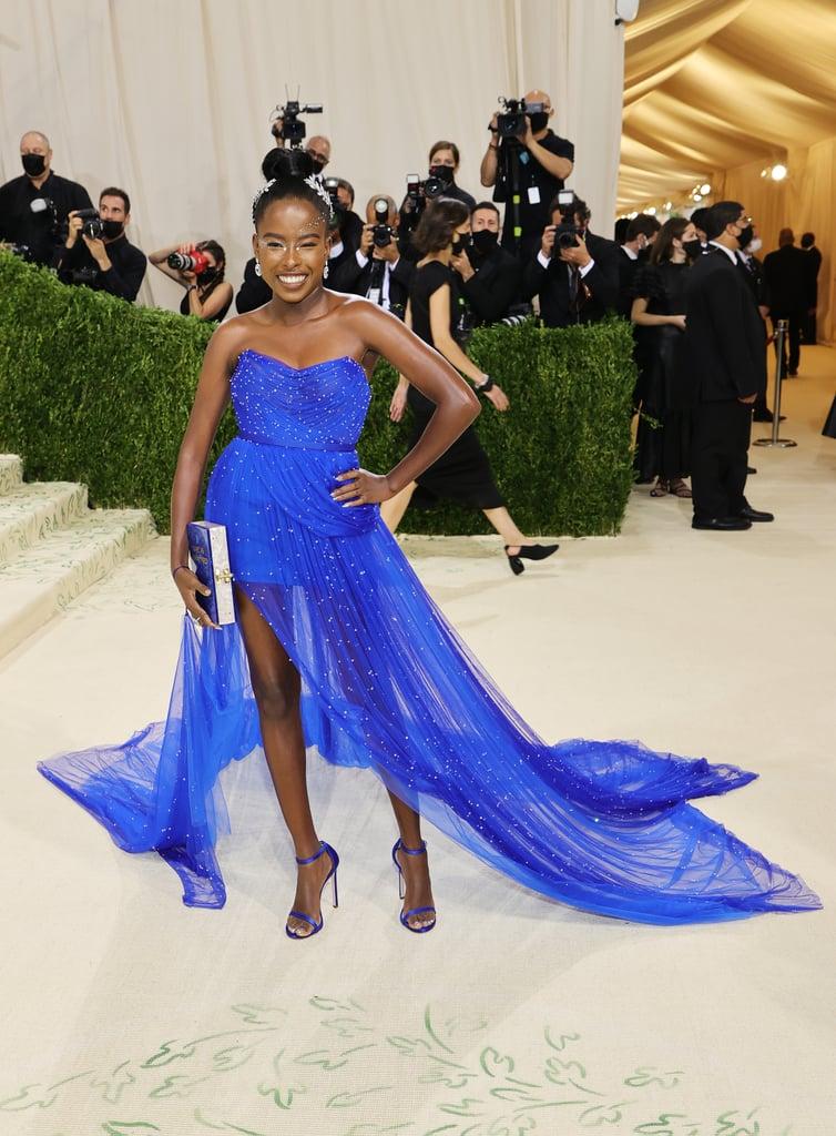 Amanda Gorman's Blue Vera Wang Dress at the Met Gala 2021
