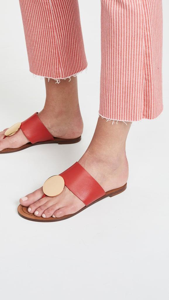 cc101d6fe546 Tory Burch Patos Disk Sandals