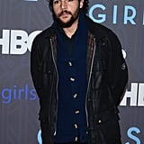 Christopher Abbott went casual on the red carpet.