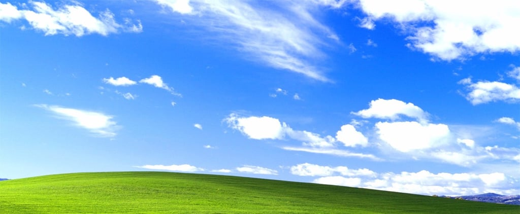 Windows XP Background Now and Then