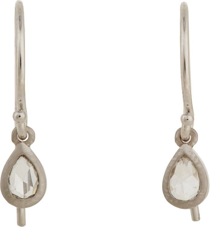 Tate Diamond Drop Earrings ($1,515)