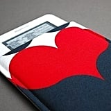 Queen of Hearts Case, sized for Kindle models ($15)