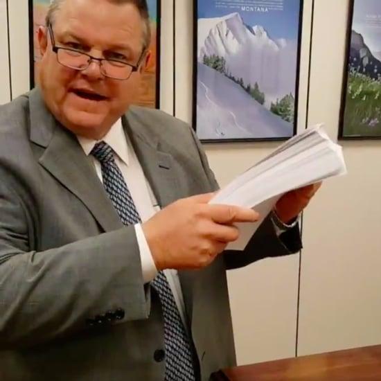 Senators React to Handwritten GOP Tax Bill