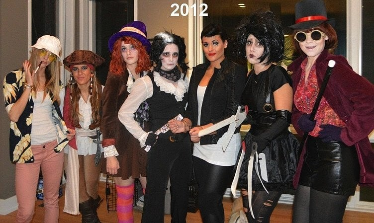 back in the group channeled johnny depp i spy raoul duke from fear