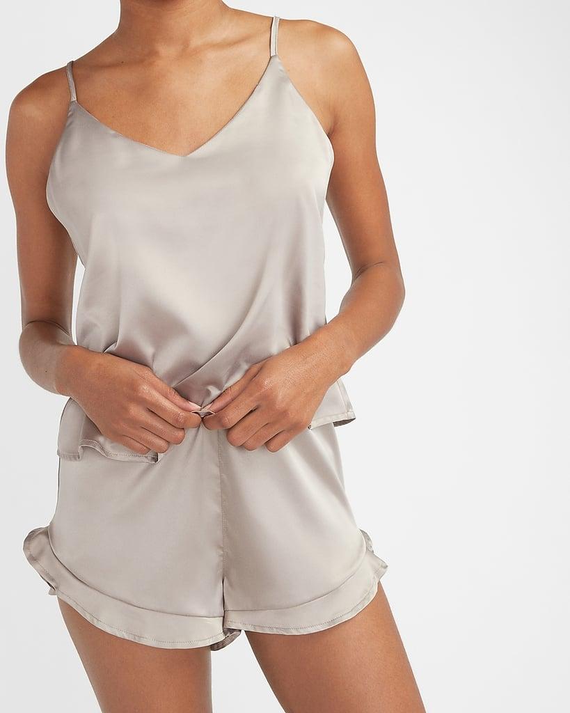Satin V-neck Pajama Cami