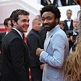 Alden Ehrenreich and Donald Glover
