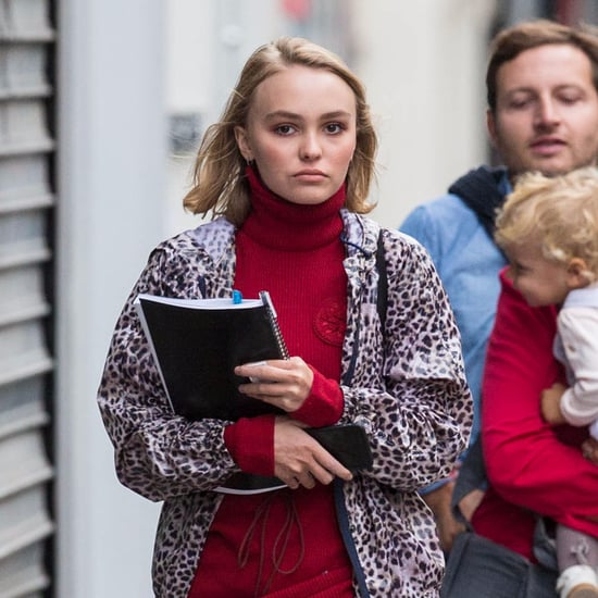 Lily-Rose Depp's Street Style in Paris