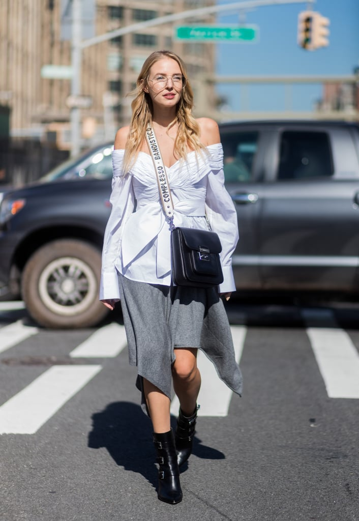 Swap Your Button-Down For an Off-the-Shoulder Top