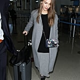 44 Times Jessica Alba's Outfit Was No Match For a Long Plane Ride