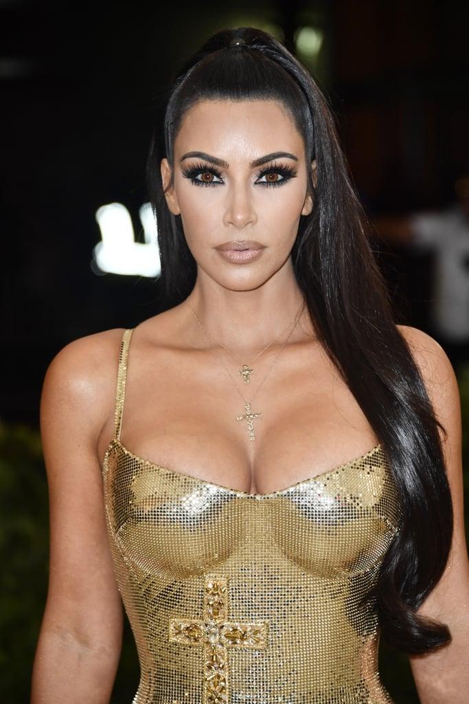Kim Kardashian Makeup Met Gala 2018