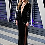Miley Cyrus at the 2019 Vanity Fair Oscar Party